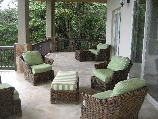 Red Frog Beach Island Resort & Spa: Porch of Villa #24