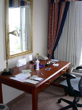 Hilton Garden Inn Auburn Riverwatch: desk