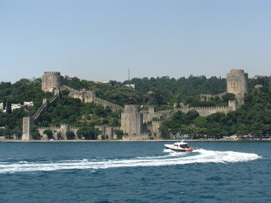 Rumeli Fortress: Outside view