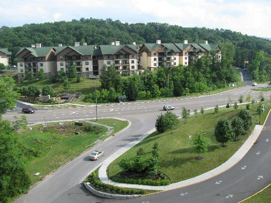 Wyndham Smoky Mountains: view form balcony
