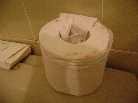 The Columbia : Toilet paper roll