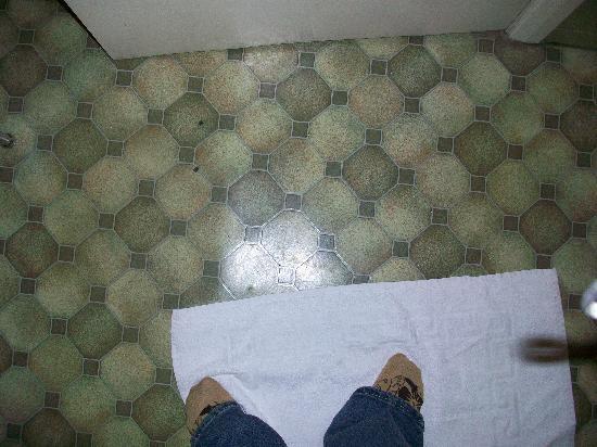 The Columbia: nasty floor