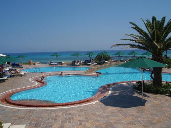 Piscina Hotel Lindos Memories
