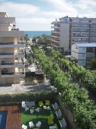 Magnolia Hotel: La vue de notre balcon