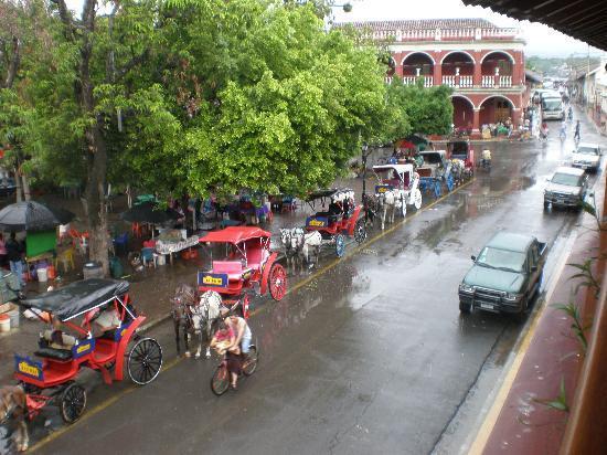 Hotel Plaza Colon : View from my veranda