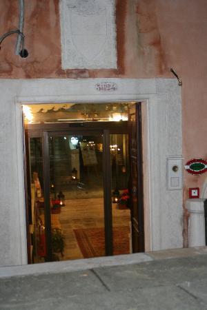 Entrée du Palazzo Paruta