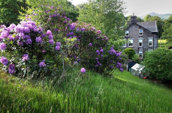 Riverside from the garden