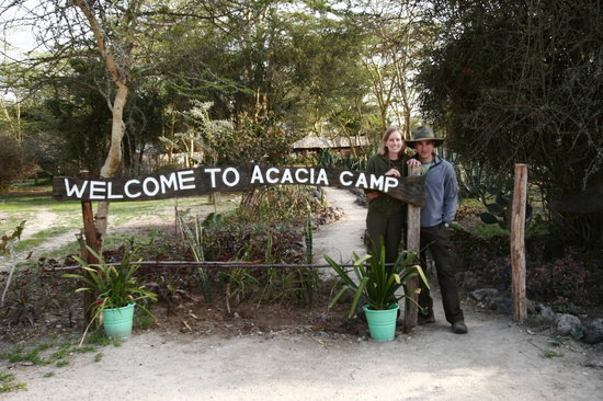Swara Plains Acacia Camp: Main Entrance to Acacia Camp