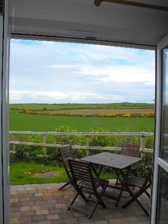 Ballathona Farm : The patio