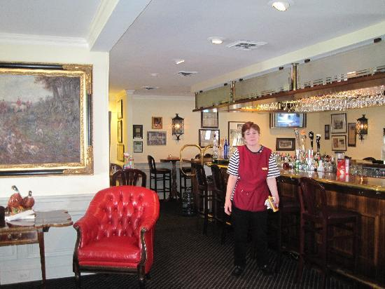 The Smithfield Inn Bed and Breakfast, Restaurant and Tavern: bar at Smithfield Inn