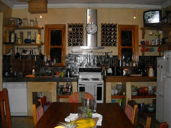 Sweet Orange Guest House: The kitchen
