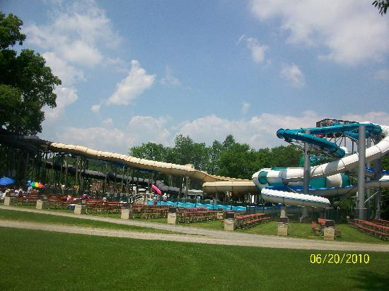 Hope, NJ: Water Slides