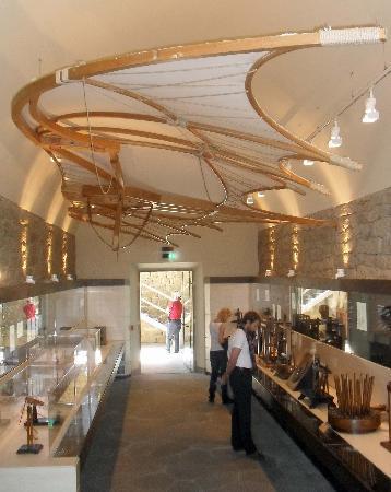 Vinci, Italie : Museo Leonardiano_Galleria