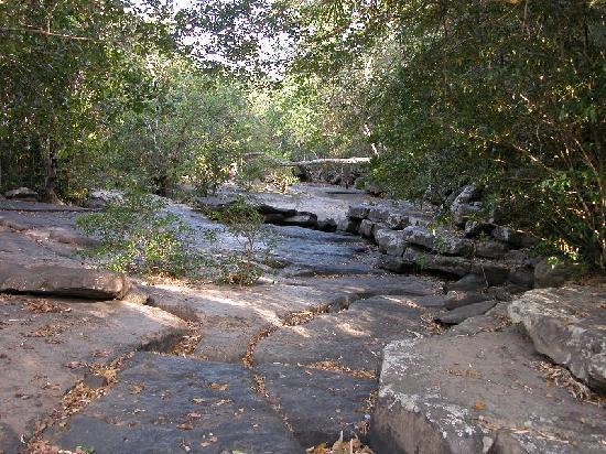 Phu Faek Forest Park - torrente dove sono state rinvenute le impronte del dinosauro