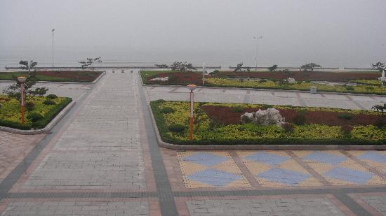 Chishan Hotel: Blick vom Hotelzimmer aufs Meer