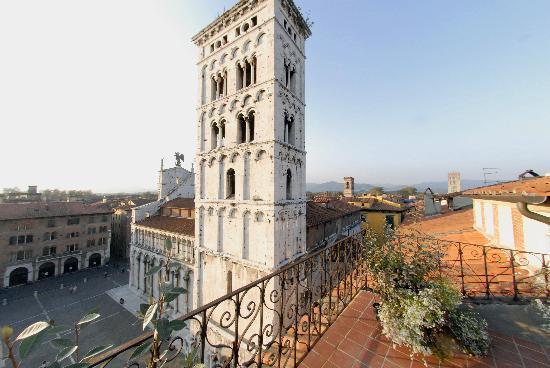 Palazzo Rocchi: veduta dall'alto