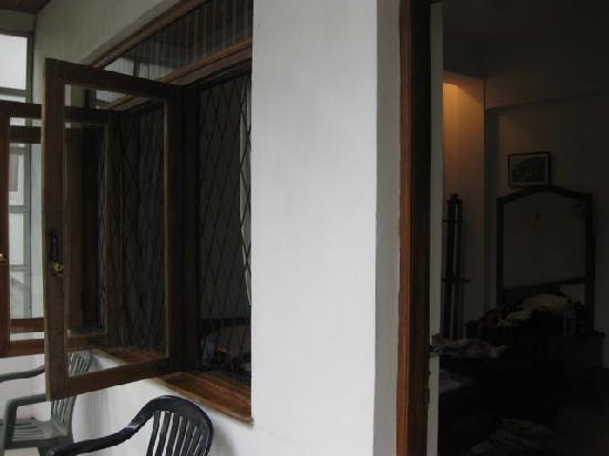 Sharon Inn: our balcony