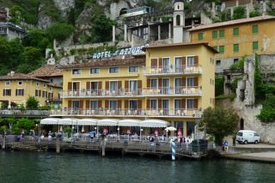 Hotel all`Azzurro: HOTEL FROM SEA