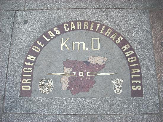มาดริด, สเปน: km0 ... non riuscivamo a trovarlo è piccolo !!!