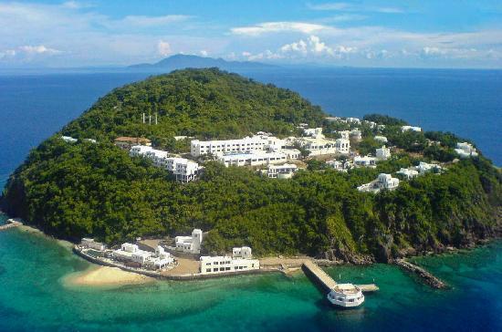 Bellarocca Island Resort and Spa: Island Aerial of Bellarocca
