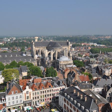 Holiday Inn Express Arras: View from the belfry, Arras
