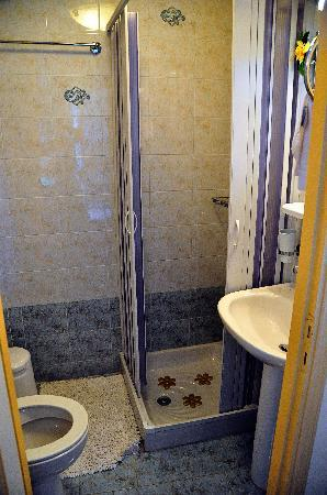 Casa Leone Boutique Hotel: Small but servicable bathroom