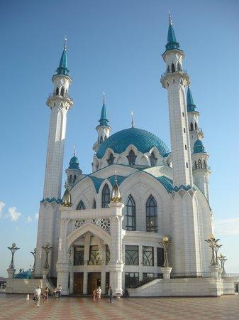 Kazan, Russie : Kul-Scharif-Moschee