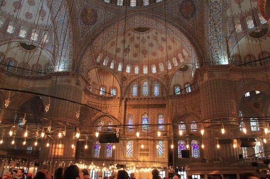 Suleymaniye Mosque: Innenansicht
