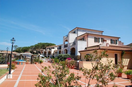 Cannigione, Ιταλία: vista del hotel