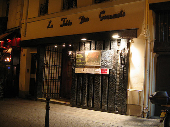 La Table des Gourmets, Paris - Saint-Merri - Menu, Prices