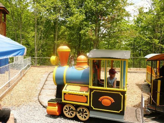 Kiddie train picture of ober gatlinburg amusement park for Cabins near ober ski resort gatlinburg tn