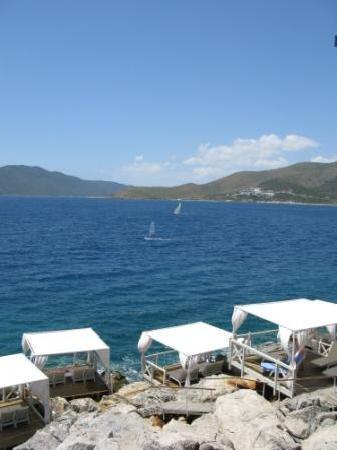 Club Med Bodrum Palmiye : View from Beach Restaurant