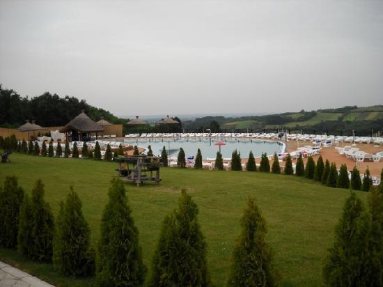 Arandjelovac, Serbie : view towards the swimming pool