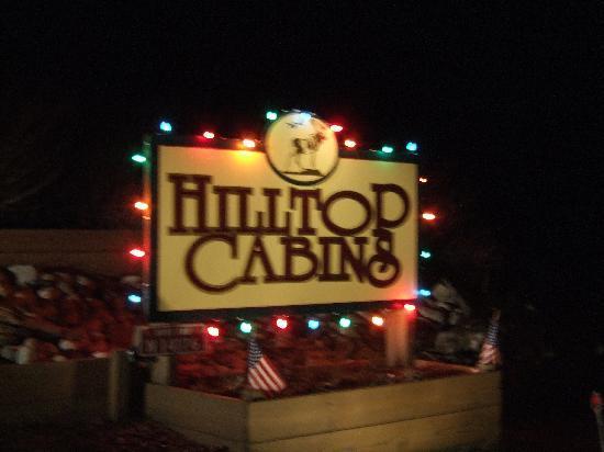 Hilltop cabins: Christmas st Hilltop
