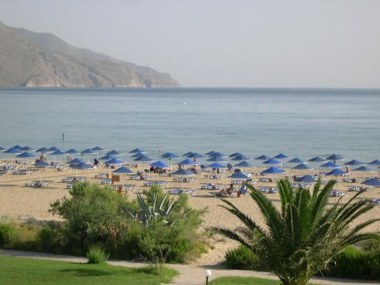 Pilot Beach Resort: Blick vom Balkon