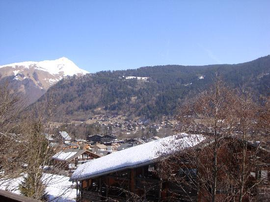 Chalet Clair Matin : View from the balcony