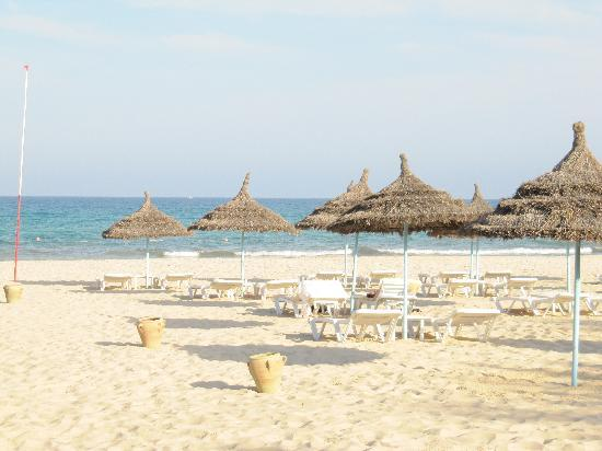 Hotel Palace Oceana Hammamet: Praia do hotel