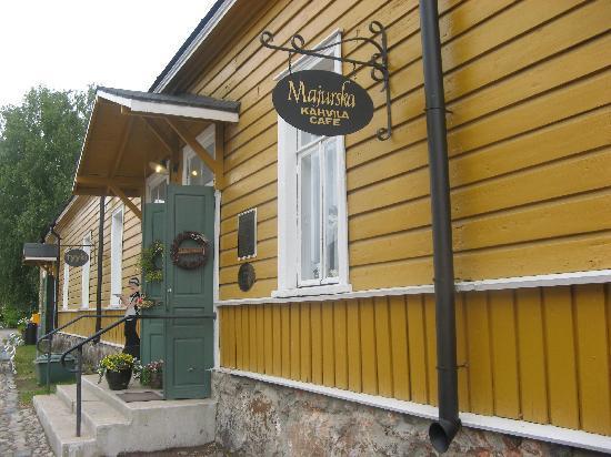 Coffee house Majurska : entrance