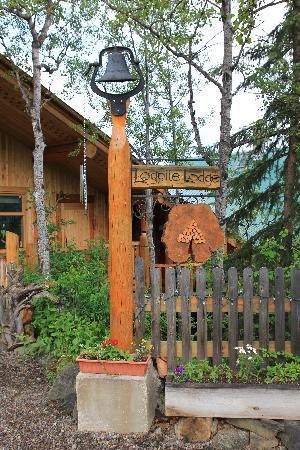 Logpile Lodge: Eingang