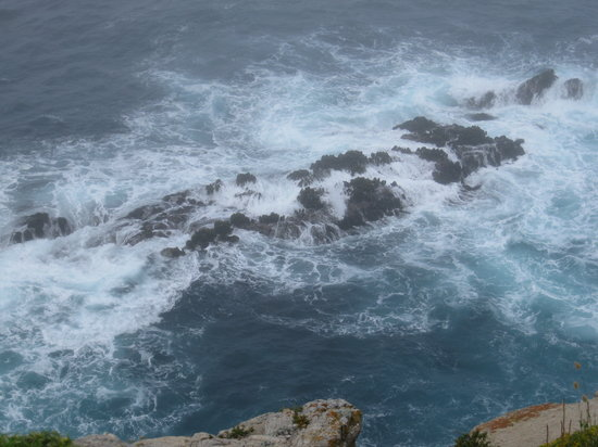 Carmel, CA: Crashing waves