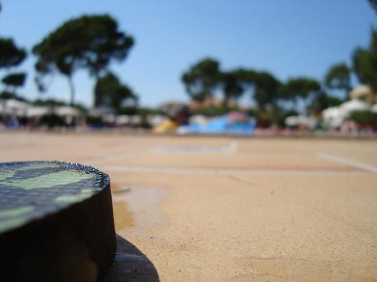 Zafiro Mallorca: view from the flip flops