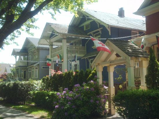 Cambie Lodge Bed & Breakfast: Our beautiful tree lined neigbourhood