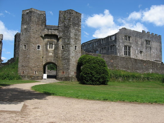 Totnes, UK: Berry Pomeroy Castle