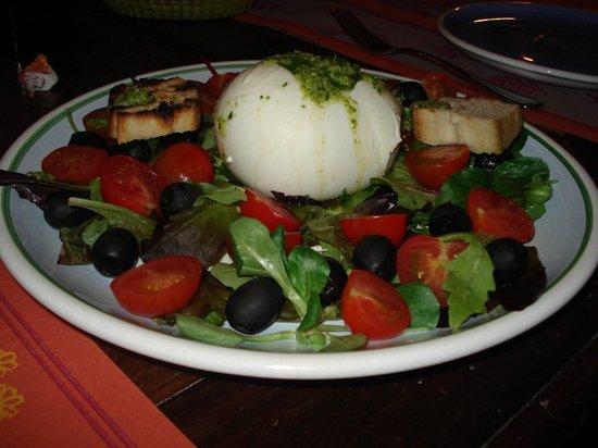 Trattoria Le Antiche Carrozze : Delicious Buffalo Mozzarella salad!