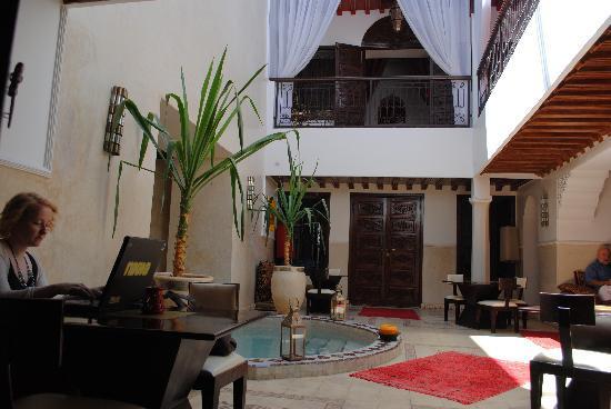 Riad Argan: Communal Area