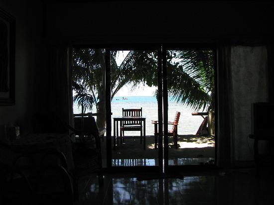 Aree Beach Resort : Unser Bungalow mit Seeblick