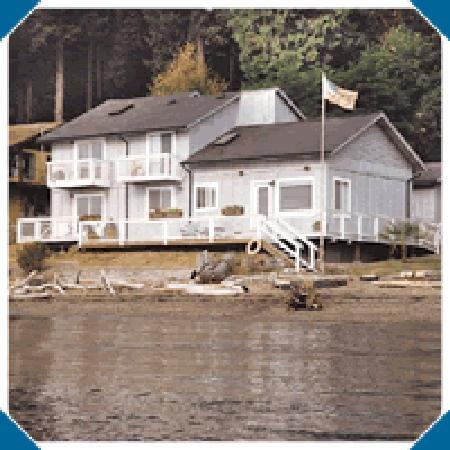 Anderson Island, WA: Exterior viewed from water