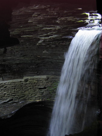 Watkins Glen, Νέα Υόρκη: Beautiful waterfalls