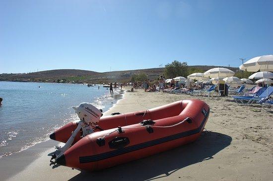 Krios Beach Camping: love this boat