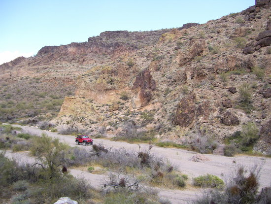 Lake Havasu City, AZ: One of many beautiful desert canyons...
